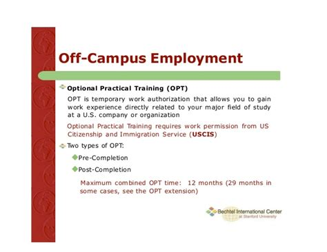 Opt Extension For Mba Students by How And When To Apply For Opt F1 Visa Students