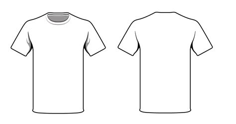 design t shirt front and back white t shirt good way to test your logo and t shirt