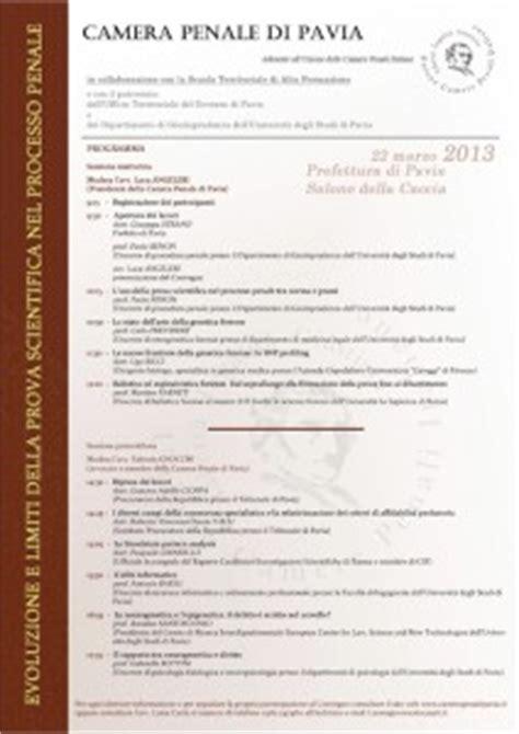 prefettura di pavia indirizzo prova scientifica e processo penale uau magazine