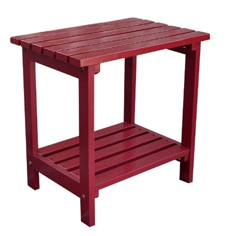 Small Wooden Patio Table Small Outdoor Wood Side Table Modern Patio Outdoor