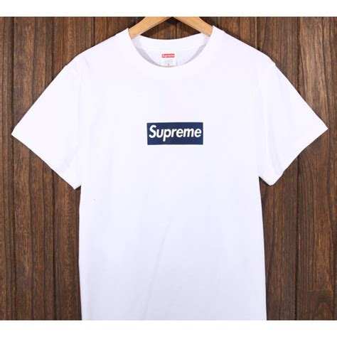 T Shirt Supreme White 0 2 Broy supreme logo t shirt white supreme logo t shirt white
