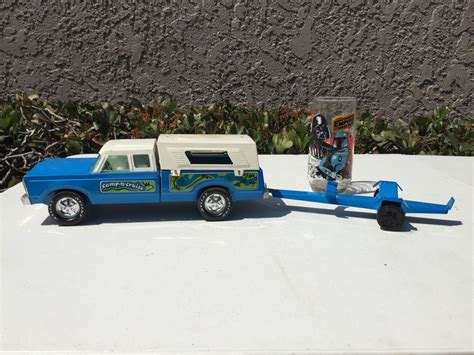 toy boat trailer and truck nylint c n cruise toy truck boat trailer pressed