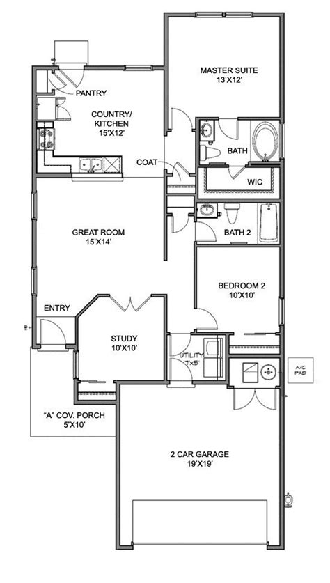 centex home floor plans centex homes