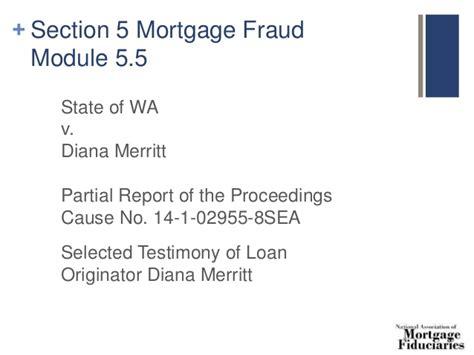 report section 8 fraud 8 hour safe loan originator continuing ed 2016