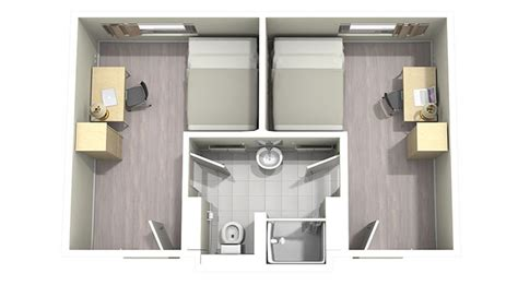 shared bathroom layout compare residences and fees housing service university of ottawa