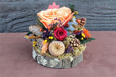 Handmade Centerpieces - handmade wedding finds for fall weddings rustic