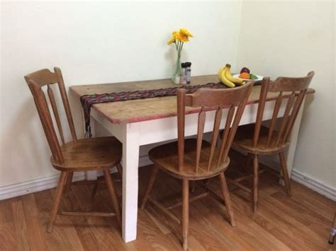 Rustic Dining Table Sydney Rustic Solid Dining Table And 4 Chairs Tables Gumtree Australia Mosman Area Mosman