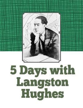langston hughes biography quiz 17 best images about mrs h poet and didn t know it on