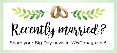 Wedding Announcement by Submit Your Wedding Announcement Wnc Magazine