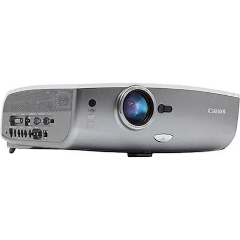 Projector Canon Sx80 Canon Realis Sx80 Ii 3000 Lumens Sxga Projector 4232b002