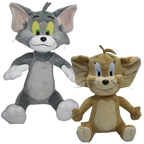 Tom And Jerry Papercraft - tom and jerry deluxe 12 inch plush box set jazwares