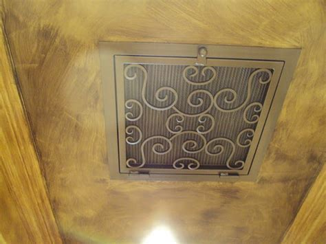 Decorative Ceiling Air Vents by Ceiling Exle Fancyvents Decorative Vents