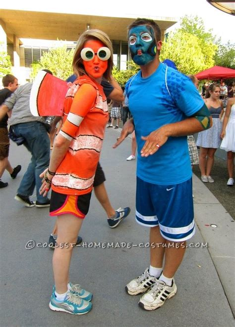 nemo costume diy original nemo and dory costume great costume ideas and marathons