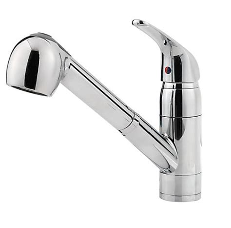 pfister kitchen faucet reviews pfister pfirst series 1 handle pull out kitchen faucet review
