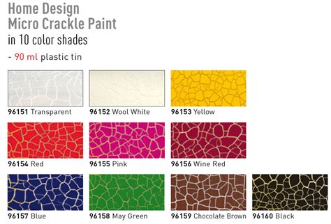 micro crackle paint ornamenting and effect creating paints colors for creatives products