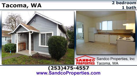 bedroom house  rent  tacoma wa sandco properties youtube