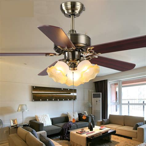 42 inch fan lights living room bedroom ceiling fans light