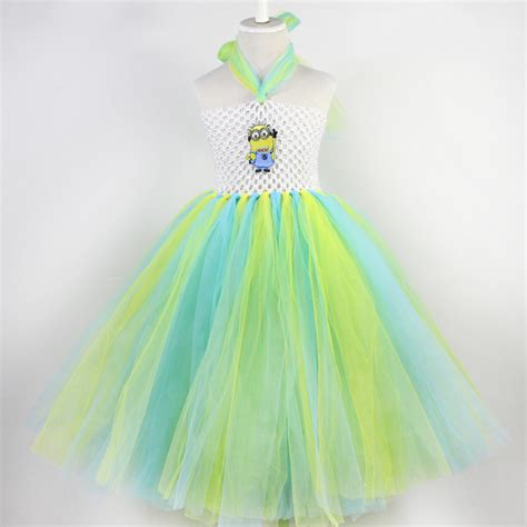 Handmade Tutu Dresses - new style children s minion tutu dress for