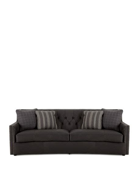 Bernhardt Leather Sofa Price Bernhardt Madeline Tufted Leather Sofa