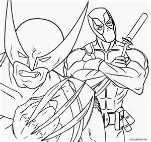 wolverine coloring pages printable wolverine coloring pages for cool2bkids