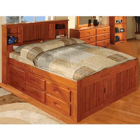 Tarikan Laci Bahan Kayu tempat tidur anak dengan laci bahan kayu jati jepara