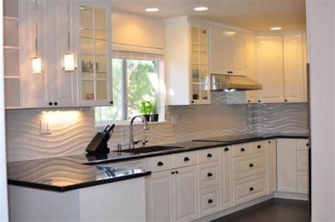 wavy backsplash 1000 ideas about ikea kitchen units on pinterest gray