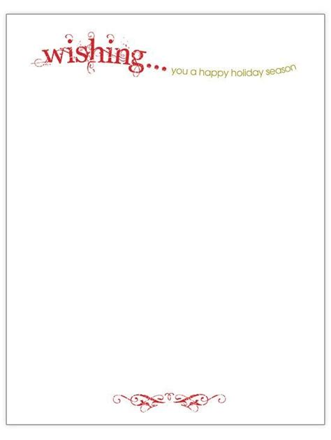 Christmas Letter Stationery Templates Best Template Idea Letter Stationery Template Free