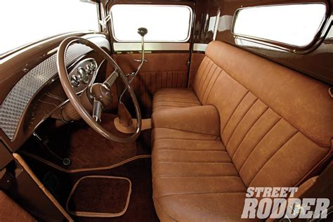 Rod Upholstery by 1934 Ford Tucker S Truck Rod Network