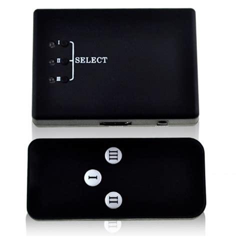 Hdmi Switch 3 Port Hd 1080p With Remote Black Switche 1 hdmi switch 3 port hd 1080p with remote iu
