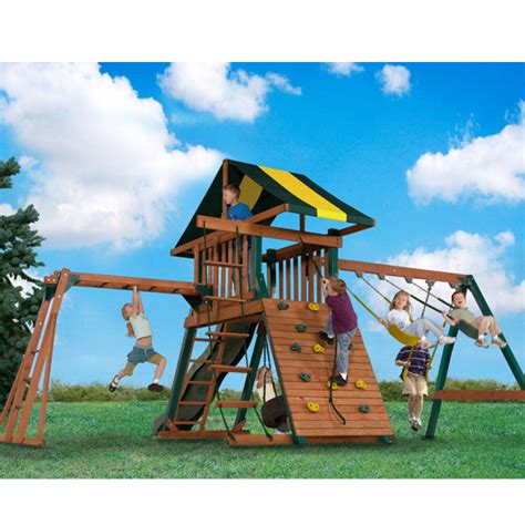 backyard playsets with monkey bars bettymills wooden playset with monkey bars backyard