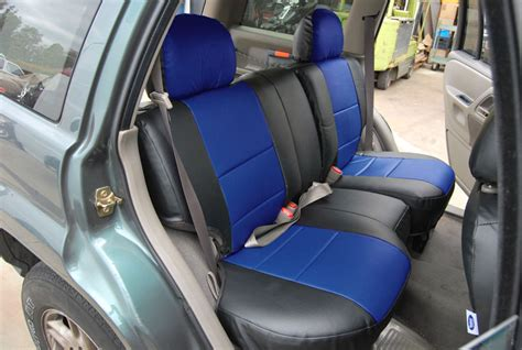 2004 jeep grand limited seat covers jeep grand 1999 2004 iggee s leather custom fit