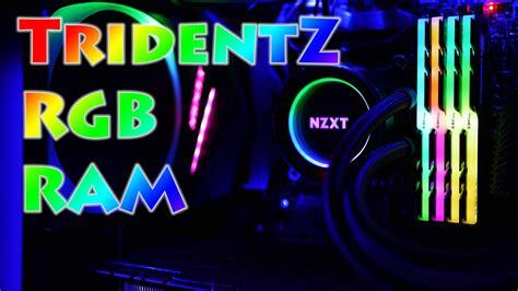 g skills ram g skill tridentz rgb ram half of a review