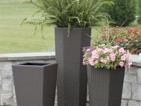 vasi in resina per esterni moderni vasi da esterno in resina vasi per piante