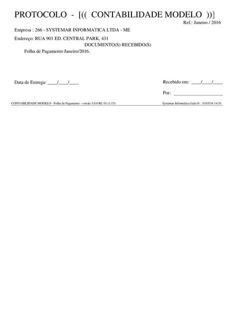Folha de Pagamento - Systemar - Informática Aplicada