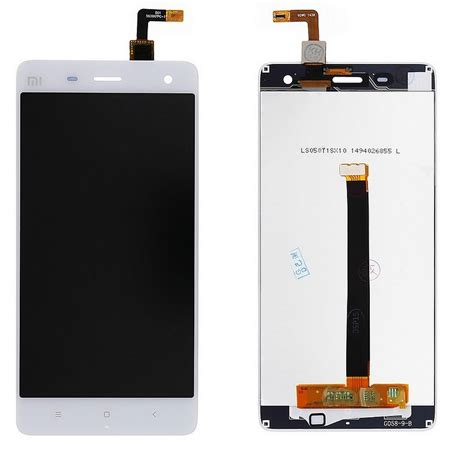 Lcd Touchscreen original lcd display touch screen digitizer replacement part for xiaomi mi4