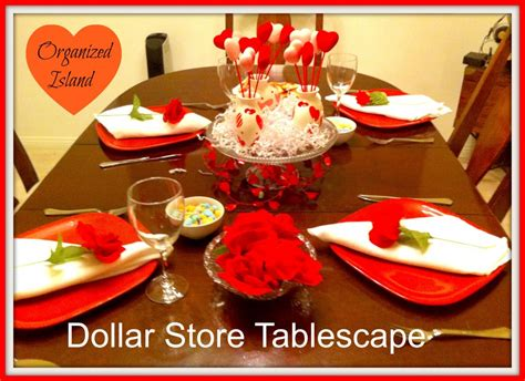 valentines day store dollar store s tablescape
