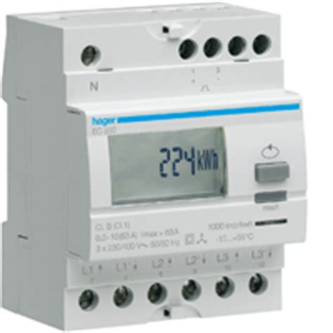Kwh Single 1 Fase Phase Fort Kwh Single 1 Fase Phase kilowatt hour meters hager