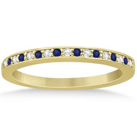 Blue Sapphire 6 55ct blue sapphire engagement ring set 14k yellow