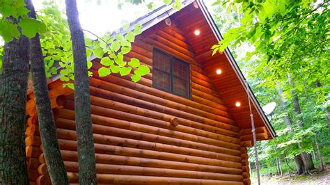 Paint Creek Cabins by Paint Creek Lodge 5 Bedroom Log Cabin With Tub