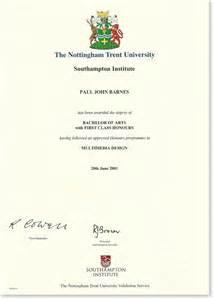 bachelor of arts with class honours paul barnes digital design