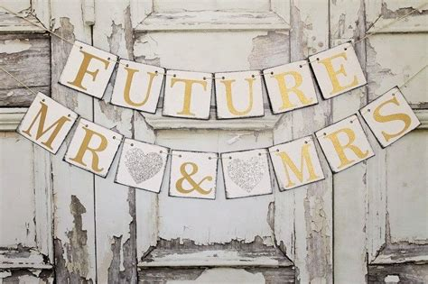 Rustic Wedding Banner by Wedding Banners Rustic Wedding Signs Future Mr Mrs