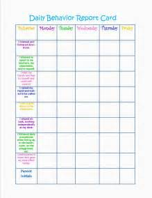 daily behavior chart template newhairstylesformen2014 com