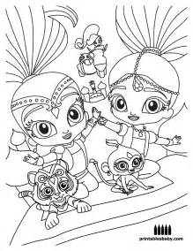 shimmer and shine coloring pages printable shimmer and shine coloring pages to print coloring pages