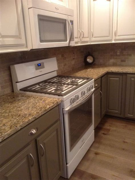 paint existing kitchen cabinets kitchen remodel painted existing cabinets gray below and