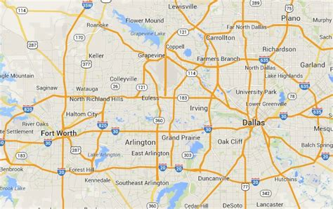 map of dfw map of dfw cities pictures to pin on pinsdaddy