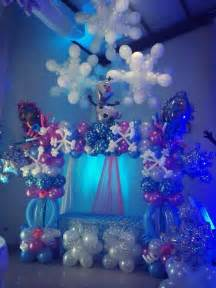 frozen balloon decorations decoracion con globos y m 225 s