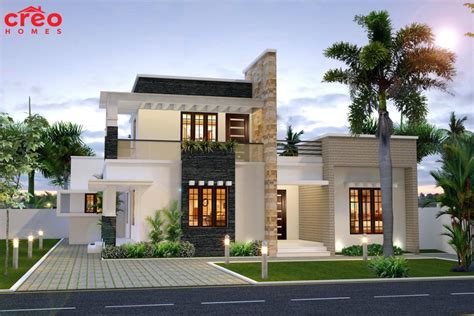 2018 modern design house roof top contemporary flat roof house plans
