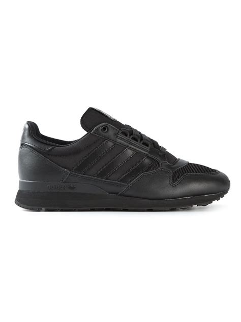 adidas leather sneakers adidas zx 500 og leather sneakers in black for lyst