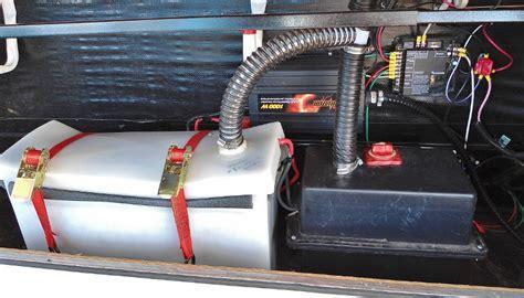 rv tv booster switch trojan 6 volt batteries rv install