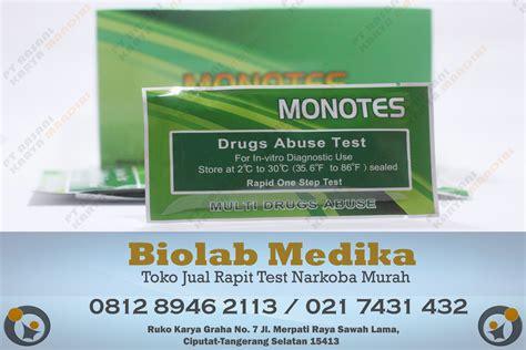Alat Rapid Test jual rapit test narkoba murah biolab medika